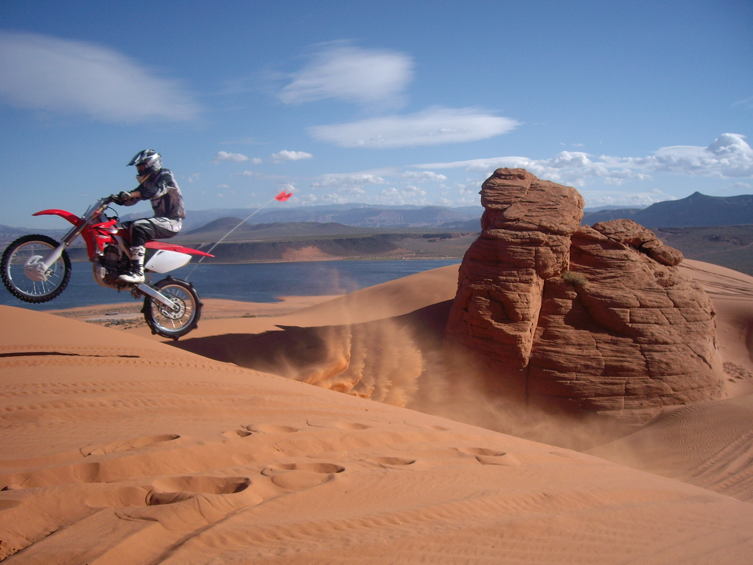 Sand Hallow Sand Dunes