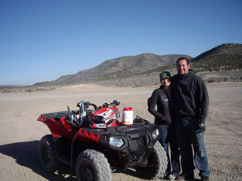 Five Mile Pass OHV Area, Utah - Polaris Sportsman 850 XP