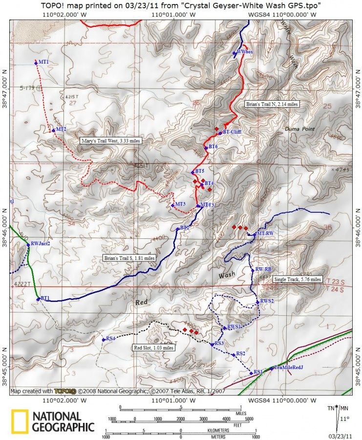 White Wash Sand Dunes Utah ATV Trails And Dirt Bike Trails Moab - Wash map