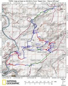 Dubinki - Dead Cow & Mary's Trail Map