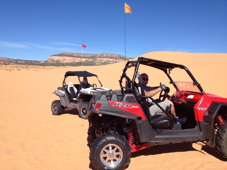 Polaris RZR - Coral Pink Sand Dunes - Utah