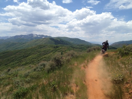Hobble Creek - Single Track